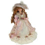 Фигурка интерьерная - кукла декоративная милена, фарфор 46см (762625) фото