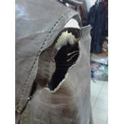 Реставрация порезов на кожаных изделиях
