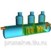 С губчатым фильтром в маслобензоотделителе и тканевыми фильтрами направленного действия в сорбционном блоке фото
