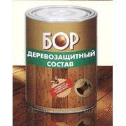 Деревозащитный тонирующий состав «БОР» для наружных и внутренних работ (бесцветный) 2,7кг. фото
