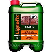 Антисептик Lignofix Stabil, зеленый, 5 кг (концентрат) фото