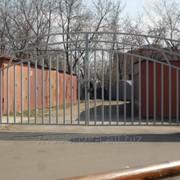 Распашные ворота св01 фото