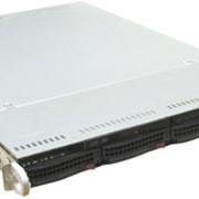 Сервер SuperMicro 1U AS-1021M-82B Black(Socket F,nForcePro3400,SVGA,DVD,Ultra320 SCSI,4xHotSwap SCSI,2xGbLan,8DDRII,560W) фото