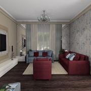 Визуализация гостиной фото