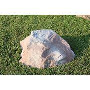 Декоративный камень-валун D-50 см фото