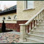 Облицовочный камень, тротуарная плитка, искусственный мрамор, фото