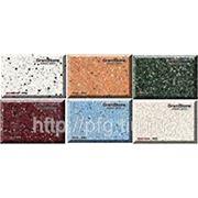"""Коллекция образцов """"BRILLIANT"""" полимерного наполнителя GraniStone фото"""