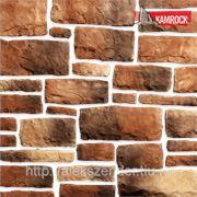 Искусственный камень KAMROCK Грубый скол фото