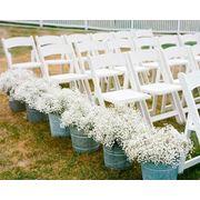 Аренда белые деревянные стулья фото