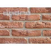Облицовочный камень Состаренный кирпич 5 фото