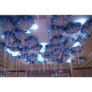 Украшение надувными шарами фото