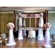 Украшение свадьбы шарами фото