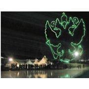 Организация лазерного шоу фото