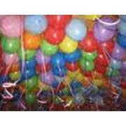 Украшение помещений надувными шарами фото