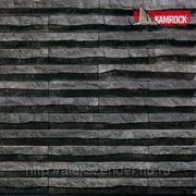Искусственный камень KAMROCK Линейный рельеф фото