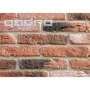Облицовочный камень Состаренный кирпич 2 фото