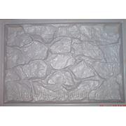 Пластиковая форма для тротуарной плитки фото