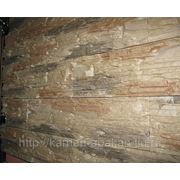 Искусственный камень Сланец мелкозернистый, комбо светлый (0150) фото