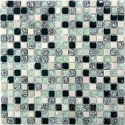 Стеклянная мозаика с камнем Dreams-1 300*300*8 фото