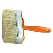 Кисть макловица пластиковая ручка натуральная щетина Rutek 30*120мм фото