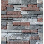 """Искусственный камень """"Каньон"""" (серый) фото"""