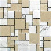 Мозаика из натурального камня Kair 305*305*7 фото