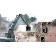 Снос и демонтаж зданий фото