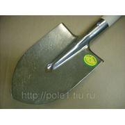 Лопата штыковая средняя из титана с черенком фото