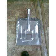 Лопата снеговая метал. оцинк. фото