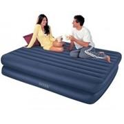 Надувная кровать Intex со встроенным насосом 66710 фото