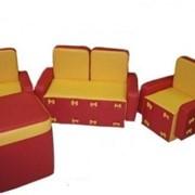 Мебель детская игровая - Комплект Бантик фото