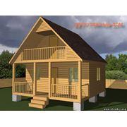 Строительство дачных домов фото