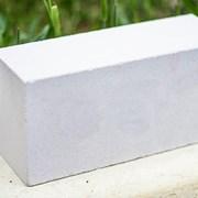 Кирпич силикатный рядовой Белый М125-200 фото