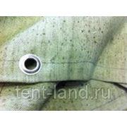 Полог брезентовый ОП 6х10м, с люверсами фото