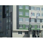 Установка фасадов зданий фотография