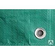 Полог Тарпаулин, 10*20,120г/м2, зеленый, шаг люверсов 1м фото