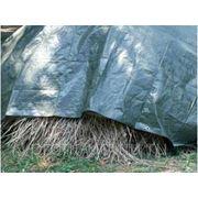 "Тент ""Тарпаулин"" 15м х 15м, 120 г/м2, зелёный фото"