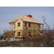 Производство комплектов каркасных домов заводского изготовления фото