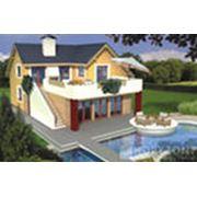 Строительство загородных домов. фото