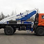 Автогидроподъёмник ВИПО-28-01 на КАМАЗ 43502 фото
