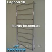 Новинка - полотенцесушитель Lagoon 10 от ТМ TAURUS / ширина 450мм. Lagoon 10/450 фото