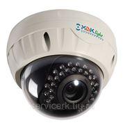 Уличная антивандальная купольная видеокамера с ИК-подсветкой. МВК-LV600 STRONG (2.8-12) фото