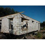 Строительства домов из пенобетона фото