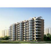 Многоэтажные жилые дома на основе стальных конструкций фото