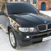 Аренда BMW X 5 черного цвета фото
