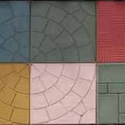 Тротуарная плитка из пластика фото