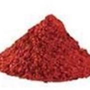 Пигмент железоокисный красный марки К фото