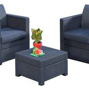 Набор мебели Limousine Balcony Set (из атмосферостойкого пластика, имитация ротанга) фото