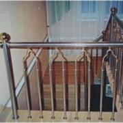 Ограждения для балконов и лестниц фото