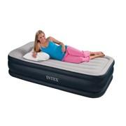 Надувная кровать Rising Comfort 102х203х48 см, с встроенным насосом 220 В фото